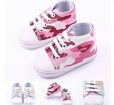 Baby Camouflage Sneakers Chucks Rosa Pink Baby2