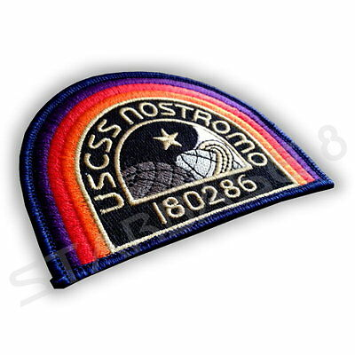USCSS 180286 NOSTROMO CREW BADGE - UNIFORM AUFNÄHER / PATCH  aus ALIEN