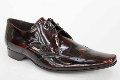 Mens Jeffery West Brown Office Smart Formal Brogues Shoes UK Size 7 8 9 10 11 12