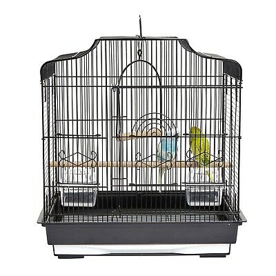 Steady Pet Ting Daffodil Bird Cage For Finch Canary Budgie Pet Supplies Small Bird Cage White