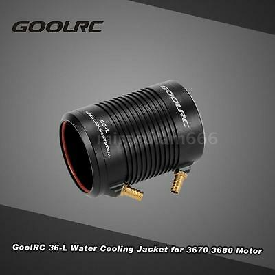 GoolRC Aluminum 36-L Water Cooling Jacket Cover for RC Boat Brushless Motor X8Z8