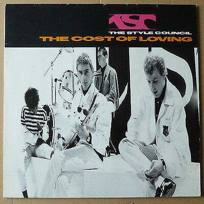 LP The Style Council - The Cost Of Loving - OIS - Deutschland 1987 - VG++ to NM