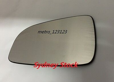 Left Passenger Side Holden Astra (Ah) 2005 - 2009 Mirror Glass With Heated Plate