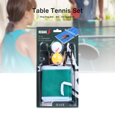 Training Competition Ping Pong Ball Net Fix Equipment Practical Table Tennis Set
