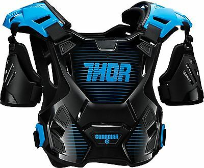 2017 Thor Guardian Chest Protector Body Armour Black/Blue Medium/Large MX