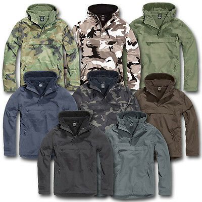 Brandit Windbreaker Jacket Windproof Waterproof Military Style Army