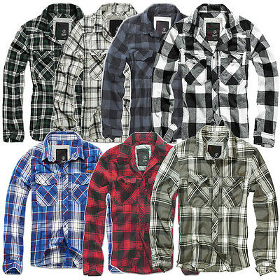 Brandit Check Vintage Shirt Checked Long Sleeve Lumberjack