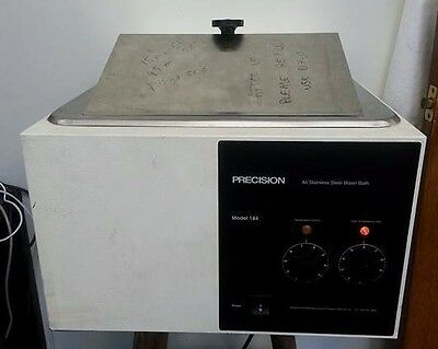 Precision All Stainless Steel Water Bath Model 184