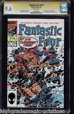 Fantastic Four #274 Cgc 9.6 Ss Stan Lee Signed Single Highest Graded#1206488007