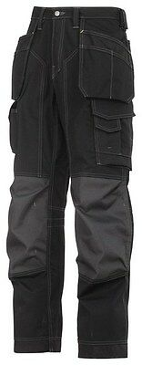 Snickers Work  Trousers 3223 New Floor layer black/black