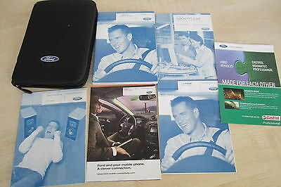 FORD FOCUS MK2 2008-2011 FACELIFT Owners Manual Handbook & SERVICE BOOK Pack
