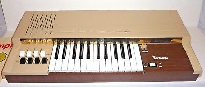 Bontempi Organ Piano Portable Electric Table Keyboard With Book