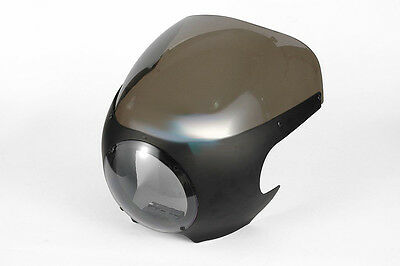 Bulle racing cafe racer pour Harley Dyna , Sportster avec fourche 39mm
