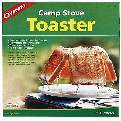 New! Coghlans Camp Stove Toaster 504D