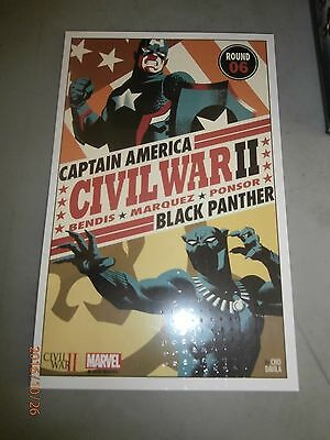 Marvel Civil War II Litho by Cho #6 Round 6 NM/VF Condition!