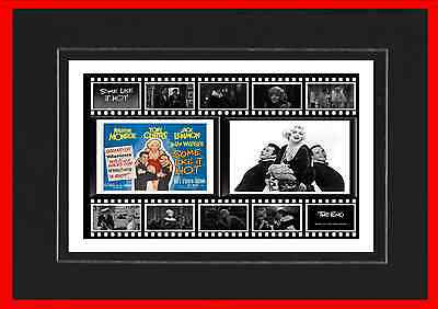 Some Like It Hot Movie Mounted Display