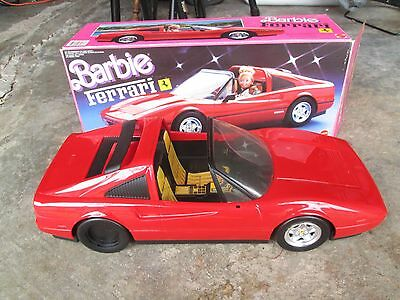 Mattel Barbie Ferrari Red In Original Box