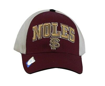 brand new d42dd d9486 NCAA Headwear Men s Florida State Seminoles Embroidered Ball Cap Hat, Maroon