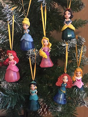 Rapunzel christmas decoration bauble tangled disney for Ariel christmas decoration