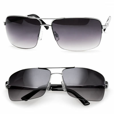 Men's Classic Sunglasses Metal Driving Glasses Aviator Outdoor Sports UV400 New