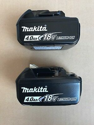 Brand New Makita BL1840-2 Battery 18-Volt 18V 4.0Ah LXT Lithium-Ion Cordless OEM