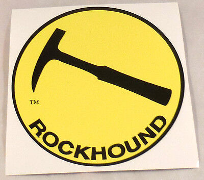 """Rockhound"" Stickers for your car or? Do you have one?  free shipping #630"