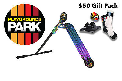 Sacrifice - AK 115 Scooter - ( Neo Chrome / AK115 ) + $50 Gift Pack