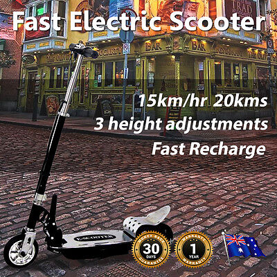 Electric Scooter Height Adjustable, Folds, Cruise 20kms, Easy Learn, Kids, Safe,