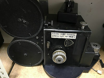 Rare ACME 35mm Horizontal VistaVision 8 perf Cine Camera w/ magazine.