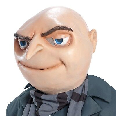 Adult Gru Mask Despicable Me Cartoon Halloween Costume Party Outfit Accessory