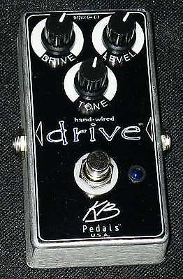 KB Pedals Hand Wired Drive Made in USA 100% Analog overdrive/ distor-NOT A CLONE