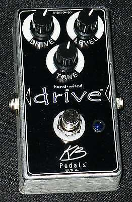 KB Pedals Hand Wired Drive Not A Clone, Made in USA,100% Analog overdrive NEW