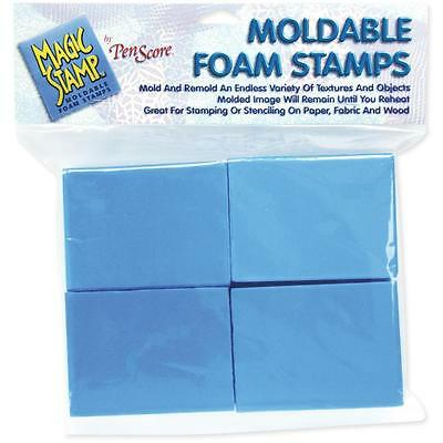 Clearsnap - Magic Stamp Moldable Foam Stamps 8/Pkg - Blocks MS10201