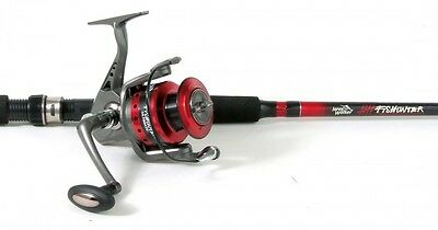 Jarvis Walker Fishunter Ultimate Rod and Reel Spin Combo 8' General Purpose