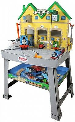 Thomas and Friends Sodor Steamworks Work Bench Lights and Sounds Engine Repair