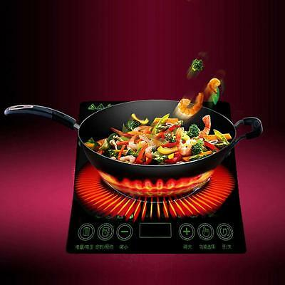 2000W AC 220V Induction Cooker Electric Cooktop Kitchen Multi-function