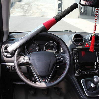 Anti Theft Baseball Bat Car Van Steering Wheel Lock Security Clamps Heavy Duty