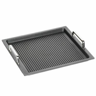 AMT Gastronorm GN 2/3 - I-23733-GG Induktion 37 x 33 cm Aluguss Griffe & Grillbo