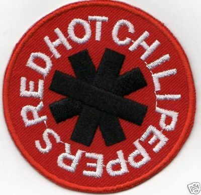 RED HOT CHILLI PEPPERS  IRON ON PATCH  buy 2 get 1 free