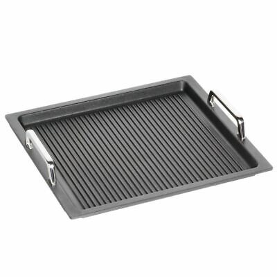 AMT Gastronorm GN 2/3 GN-Behälter 37 x 33 cm Aluguss & Griffe & Grillboden