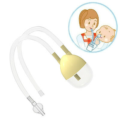 New Born Baby Safety Nose Cleaner Vacuum Suction Nasal Aspirator Bodyguard