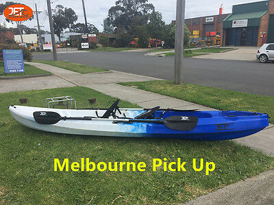Jetocean 3.7M 2.5 Seaters 2+1 Double Fishing Kayak Double Paddles and Seats