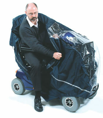 Navy Mobility Scooter Cape 3 or 4 Wheelers - Navy (Large)