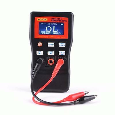 MLC-500 AutoRanging LC Meter Capacitance Inductance Table 500 KHz Tester USA