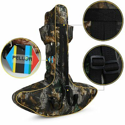 Pellor Outdoor Lightweight Archery Hunting T shaped Crossbow Bag Bow Sports Case
