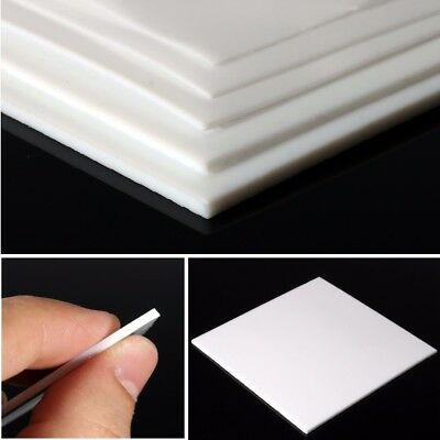 PTFE Film Sheet Plate Plastic Thickness 1/2/3mm Temperature Resistant 100x100mm