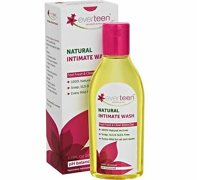 Everteen Natural Intimate Wash (105 ml) Free Shipping