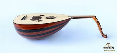 Turkish Quality Mahogany And Walnut String Instrument Zenne Women Oud Ud Ao-111Z