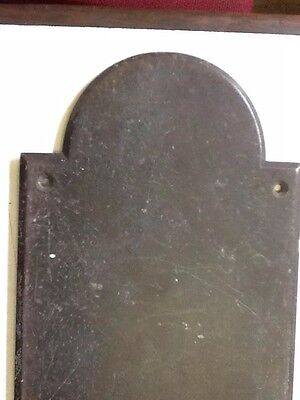 Large Reclaimed Brass Finger Plate Push Door