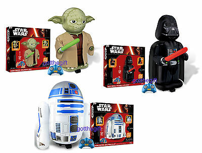 Star Wars™ Remote Controlled Inflatable With Sounds - Yoda,Darth Vader or R2 D2